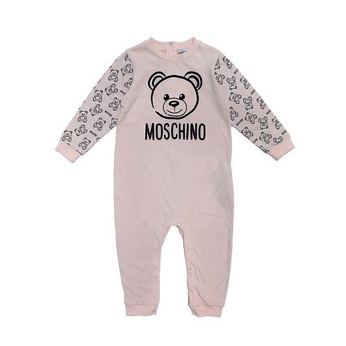 LAA10/50209 MOSCHINO BABY GIRLS ROMPER