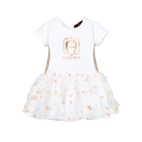 54202/001 AIGNER BABY GIRL DRESS