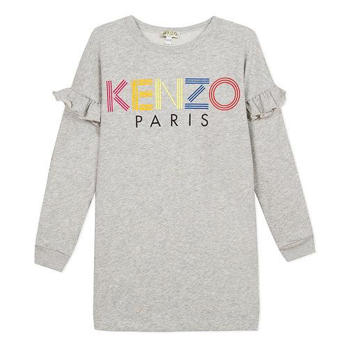 KP30228/25 KENZO KIDS GIRLS LONG SLEEVE DRESS