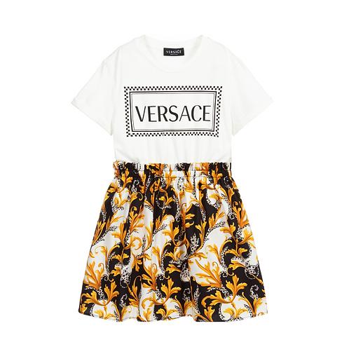 YC000413/A1002 VERSACE GIRLS DRESS