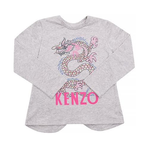 KP10058/25 KENZO KIDS GIRLS LONG SLEEVE T-SHIRT