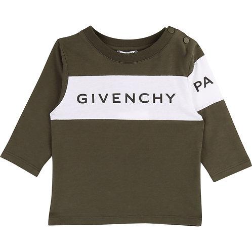 H05090/642 GIVENCHY BABY LONG SLEEVE T-SHIRT