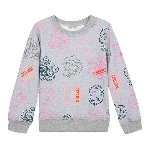 KP15168/25 KENZO KIDS GIRLS SWEAT SHIRT