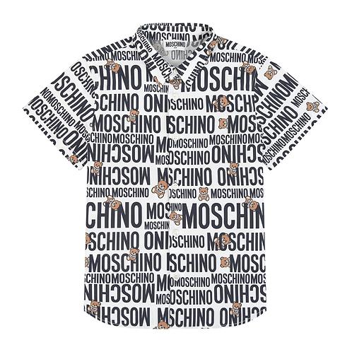 LMB06/84911 MOSCHINO KIDS BOYS SHIRT