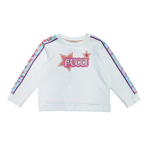 9K4040KA/001 PUCCI KIDS GIRLS SWEAT SHIRT