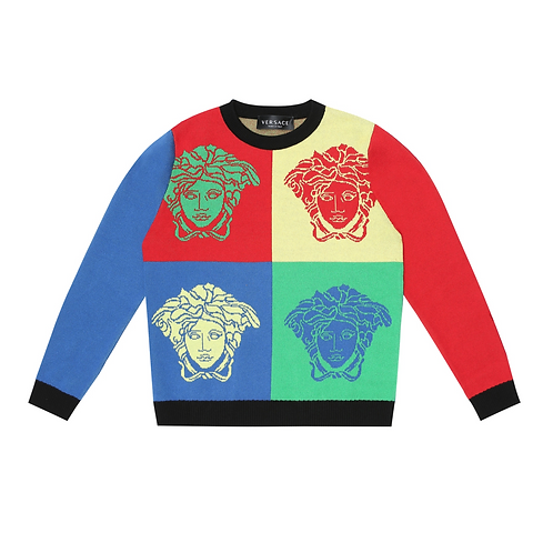 YD000271/A7000 VERSACE BOYS SWEATERS