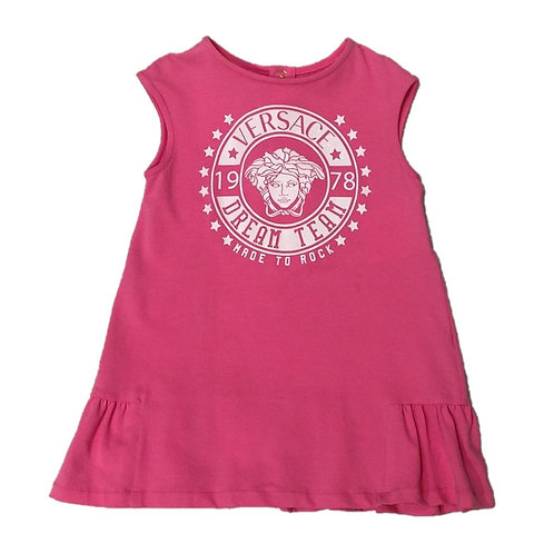 YVGAB195X/Y5024 VERSACE BABY GIRLS DRESS