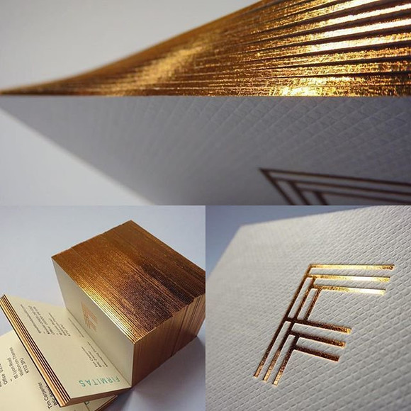 Firmitas Business Cards by Deep design agency