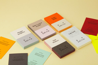 GF Smith Business Cards by Made Thought