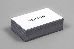 Penson Group Business Card by She Was Only
