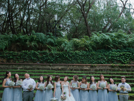 The largest bridal party ever!