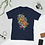 Thumbnail: Two Headed Snake with Plumeria Unisex T-Shirt