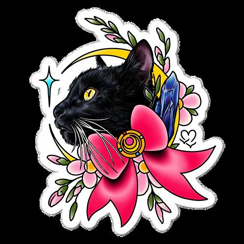 Luna Kitty Sticker