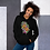 Thumbnail: Two Headed Snake with Plumeria Unisex Hoodie