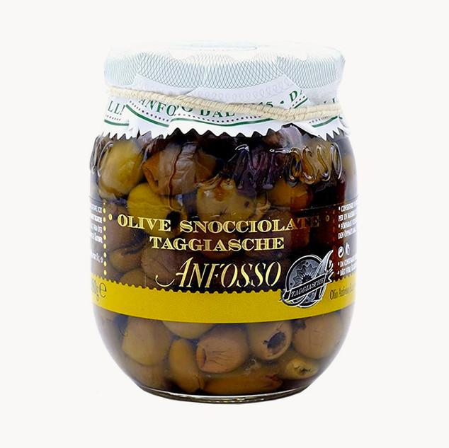 Olive Taggiasche denoyautées