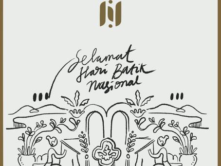 """Hari Batik Nasional 2019 """"Membatik Untuk Negeri"""""""