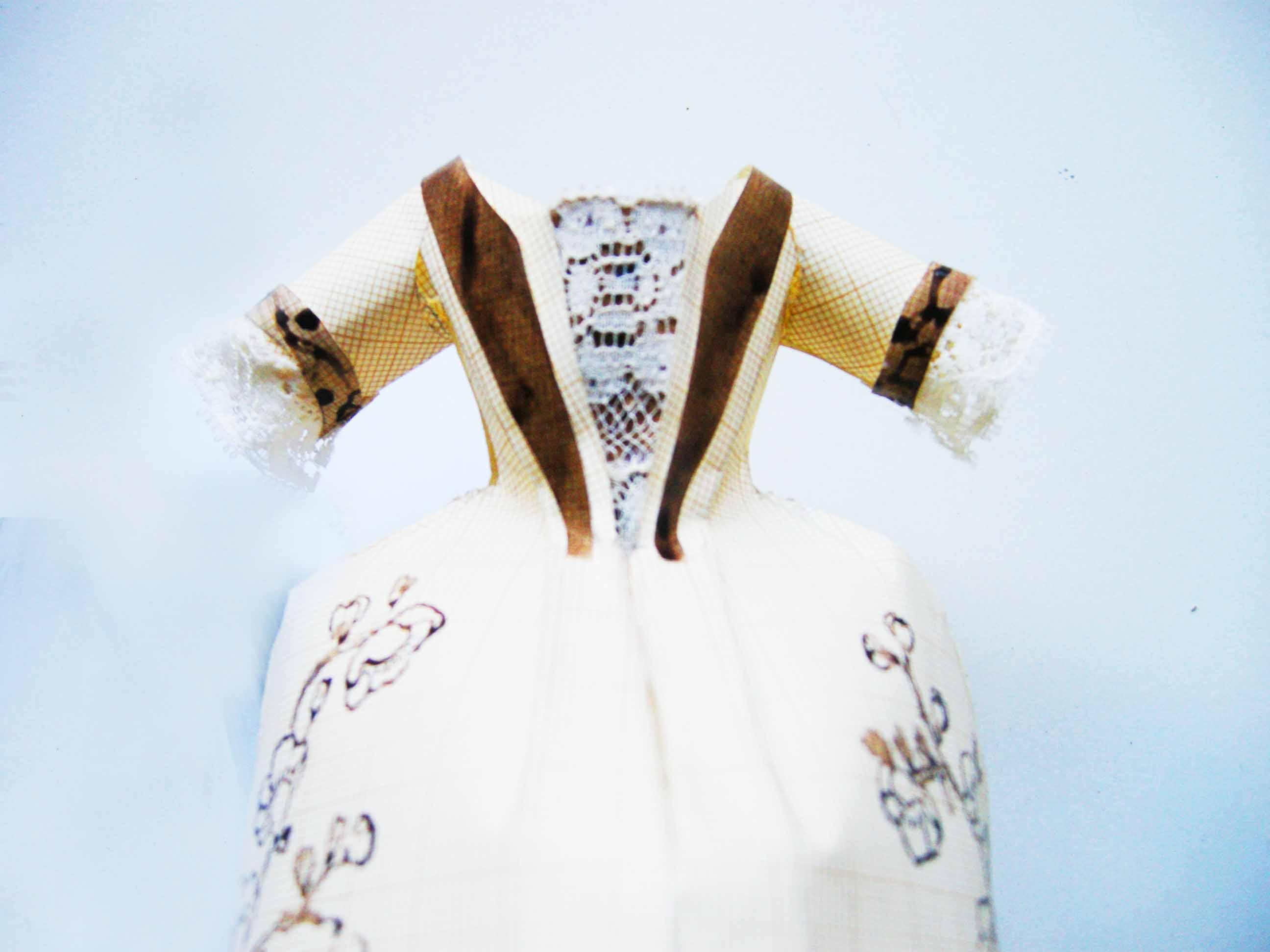 Dress papier milimetré