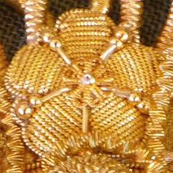 """""""Golden embroidery"""" flower"""