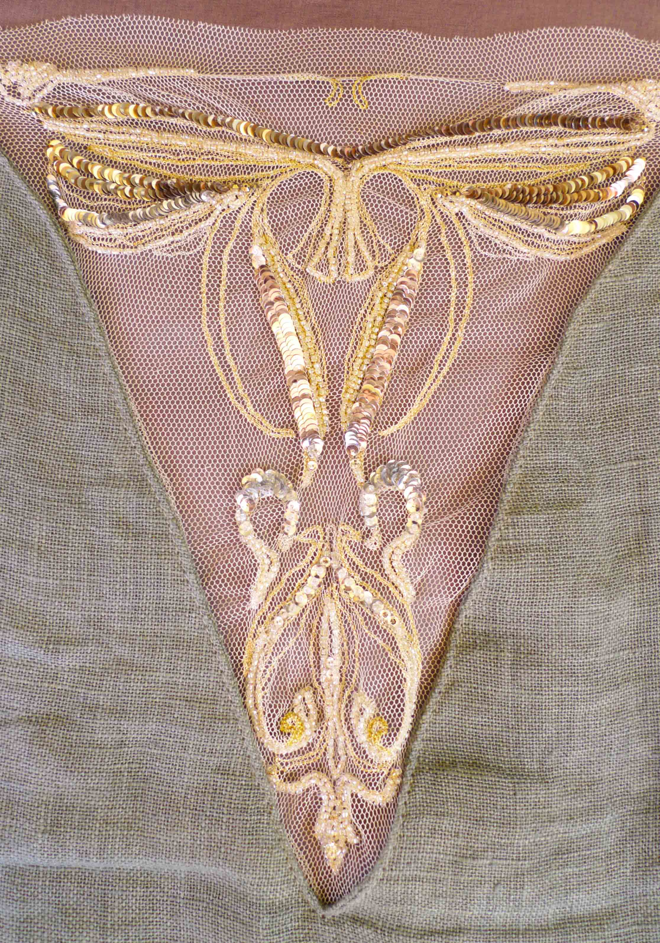 """Art nouveau"" embroidery"