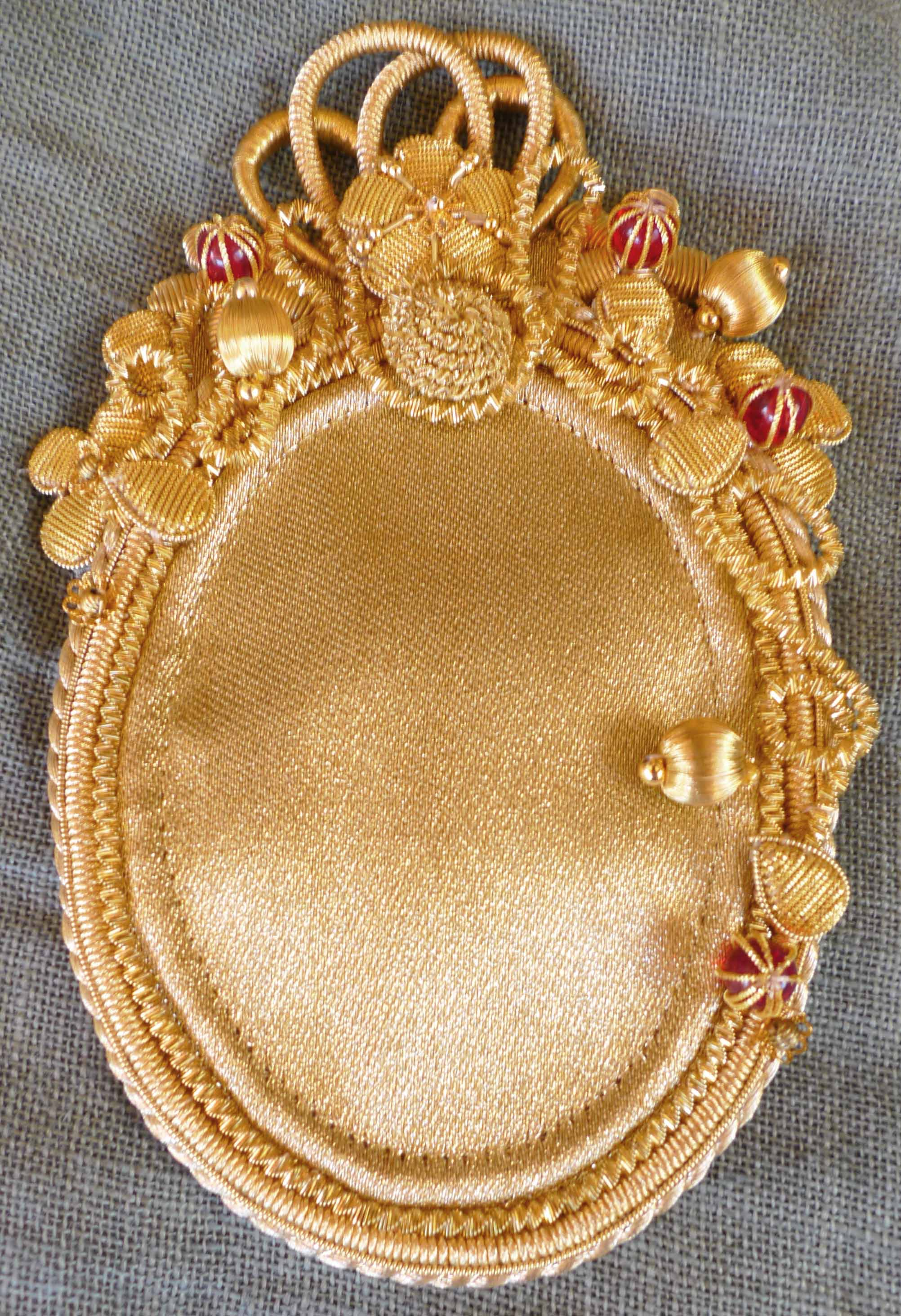 """""""Golden embroidery"""""""