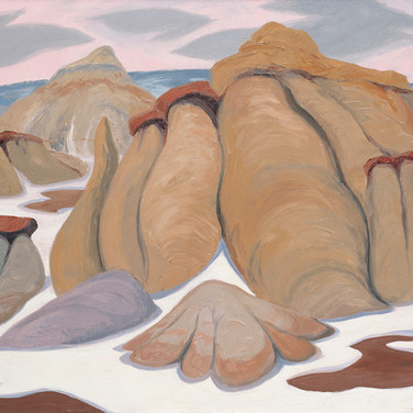Hoodoos in the Badlands (Print)