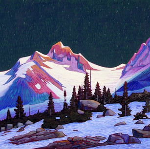 Inuk Glacier Sunrise