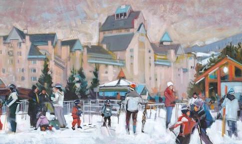 Study For Fairmont Whistler
