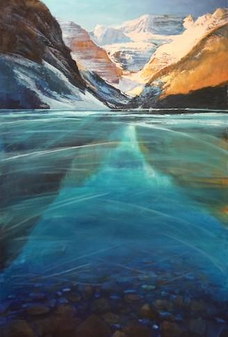 Thin Ice Lake Louise