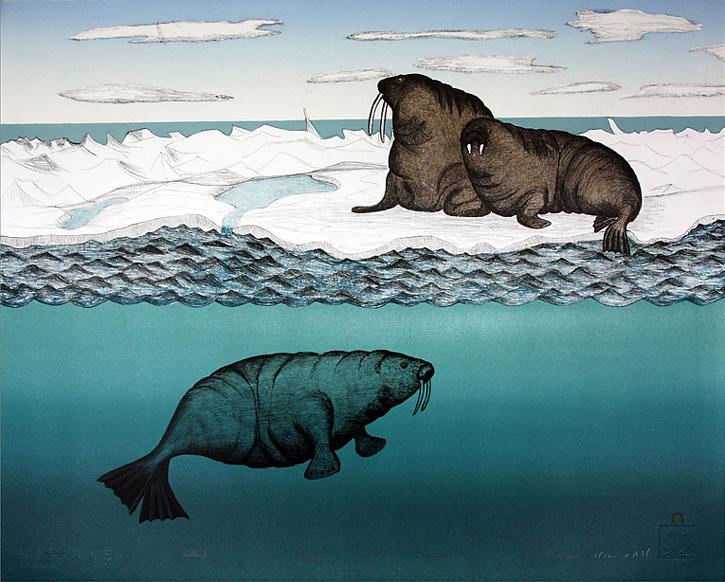 Uuttuuk (Walrus on the Ice) -1994