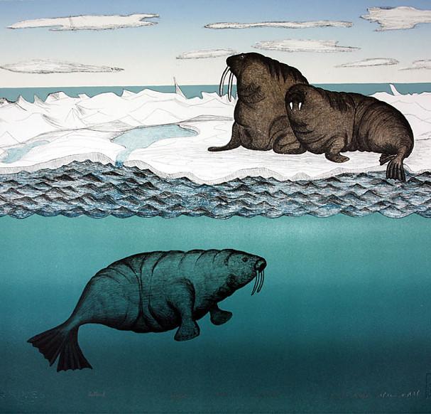 Uuttuuk (Walrus on the Ice) - 1994