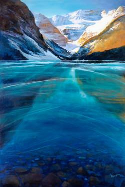Thin Ice Lake Louise (Print)