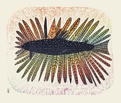 Iqaluk Sulukvautilik (Fish with Feat