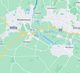 Map of The Royal Borough of Windsor & Maidenhead