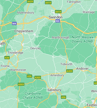 Map of Wiltshire