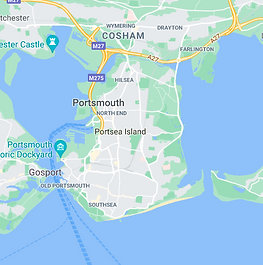 Map of Portsmouth City