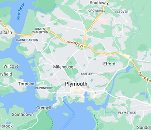 Map of Plymouth City