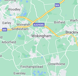 Map of Wokingham