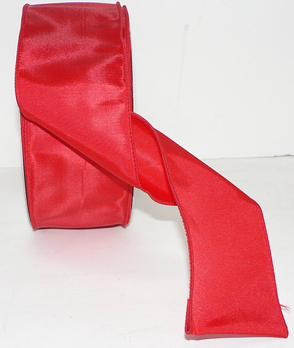 Wired Wide Ribbon Bow