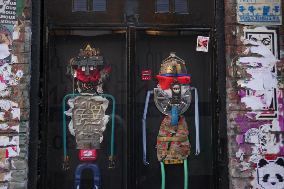 Wall art in NY in 2019.
