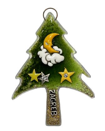 Božićni Stakleni Bor