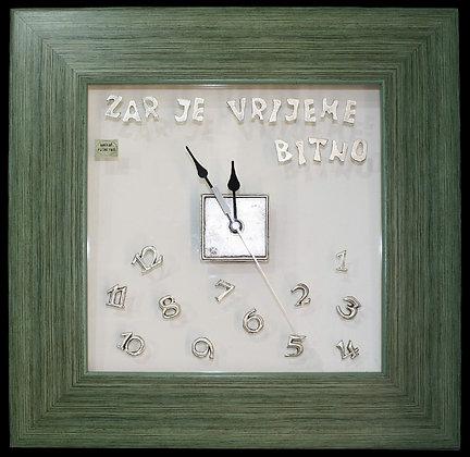 Zidni Sat - Zar je vrijeme bitno?