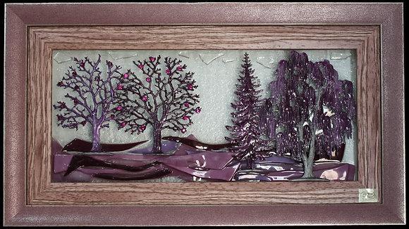 Ljubičasta Šuma u Ljubičastom Okviru
