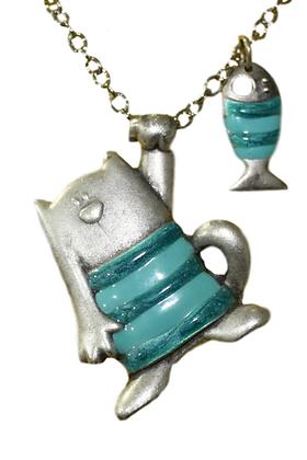 Medaljon Mačka sa privjeskom