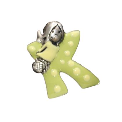 Medaljon slovo K