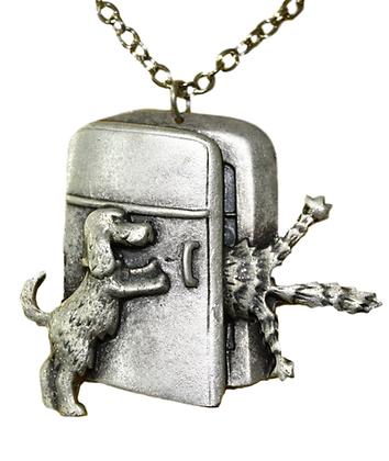 Medaljon Pas i mačka