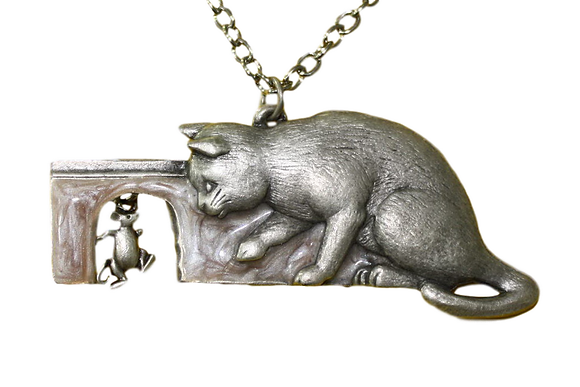 Medaljon Mačka i miš