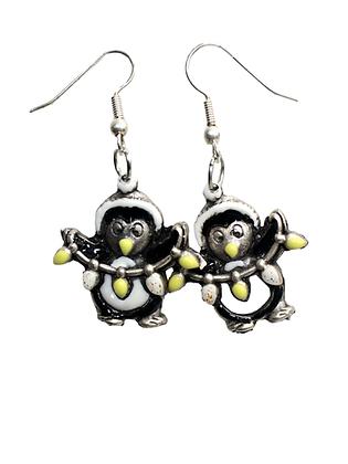 Naušnice Pingvin