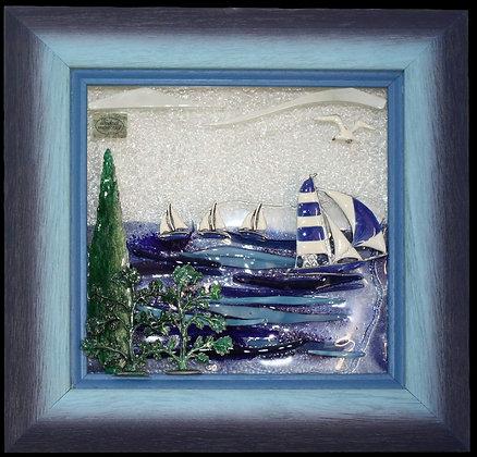 Plavo Bijela Jedrilica