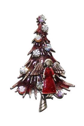 Božićni Magnet Bor Crveni