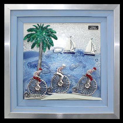 Biciklisti na Rivi